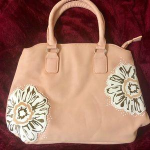 Handbags - CUTE Coral 3-Piece Bag / Tote Set